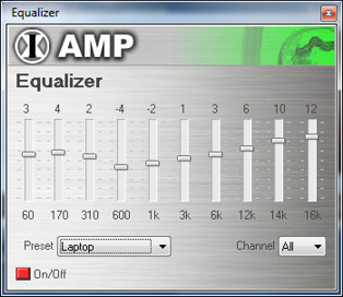 Audioplayer Effekte